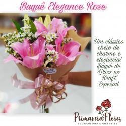 Buquê elegance rose
