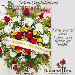 Coroa De Flores Paz 02