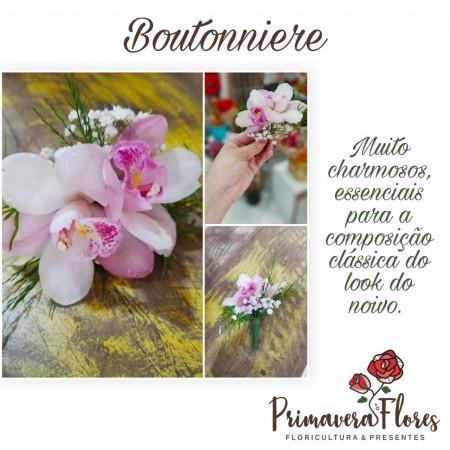 Boutonniere Orquídea
