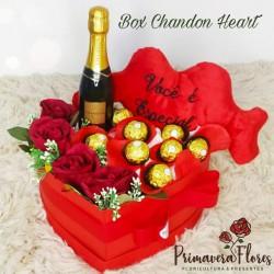 Box Chandon Heart