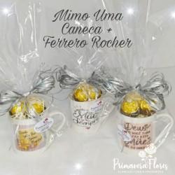 Caneca para Mãe + Ferrero Rocher