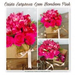 Caixa surpresa Love bombom Pink