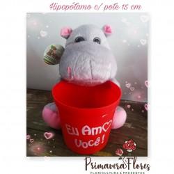 Hipopótamo c/pote