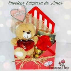 Envelope Surpresa de Amor