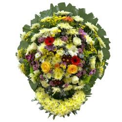 Coroa de Flores Nobres De Luxo