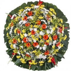 Coroas De Flores Coloridas