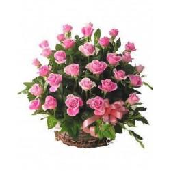 Corbelle Contendo 30 Rosas